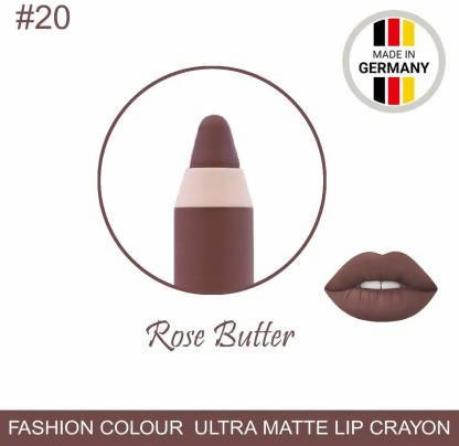 Ultra Matte Lip Crayon Rose Butter Lipstick