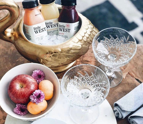 Holiday Cocktails Made with Cold-Pressed Juice from Little West