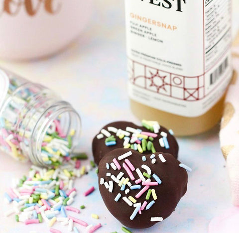 Little West Recipe: Healthy No-Bake Cookie Dough Protein Balls (with Sprinkles)