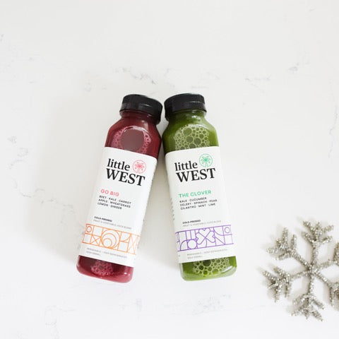 Little West Cold Pressed Juice | Healthy Holiday Gift Guide 2020