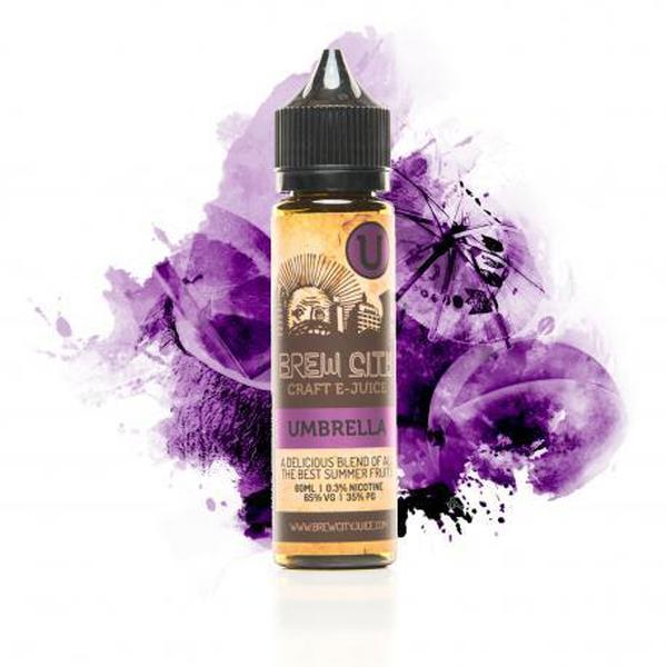Brew City-E-Liquid-Umbrella-00MG-The Vapor Supply