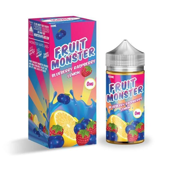 Fruit Monster-E-Liquid-Blueberry Raspberry Lemon-00MG-The Vapor Supply