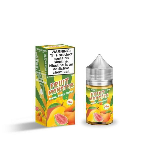 Fruit Monster Salts-E-Liquid-Mango Peach Guava-24MG-The Vapor Supply