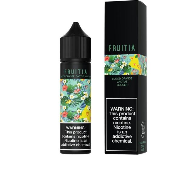 Fruitia-E-Liquid-Blood Orange Cactus Cooler-00MG-The Vapor Supply