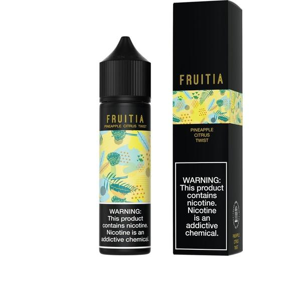 Fruitia-E-Liquid-Pineapple Citrus Twist-00MG-The Vapor Supply