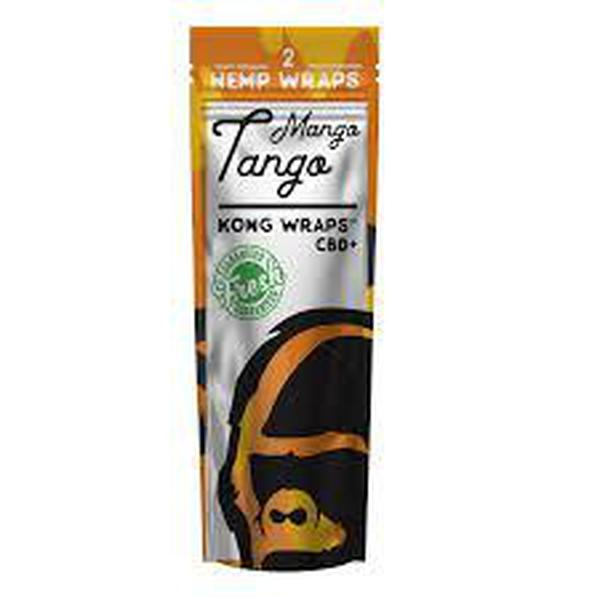 Kong Organic Hemp Wraps-Hut Goods-Mango Tango-The Vapor Supply