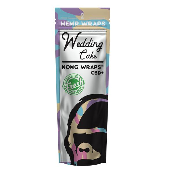 Kong Organic Hemp Wraps-Hut Goods-Wedding Cake-The Vapor Supply