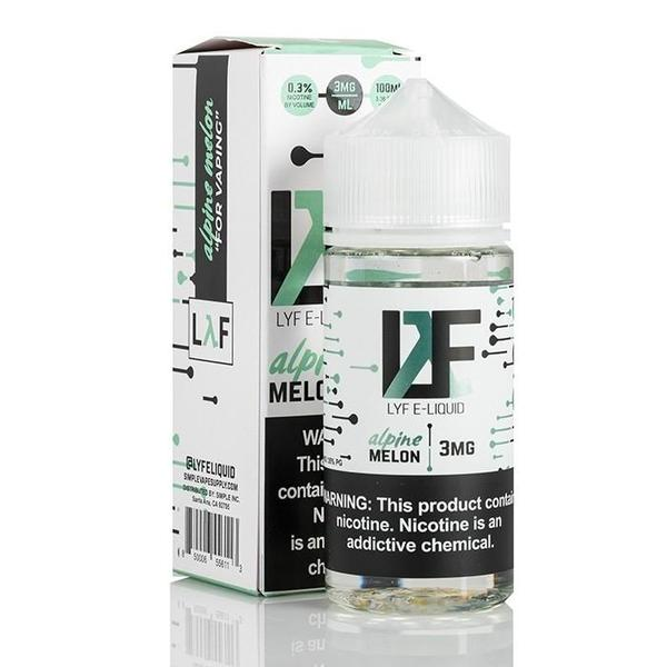 LYF E-Liquid-E-Liquid-Alpine Melon-00MG-The Vapor Supply