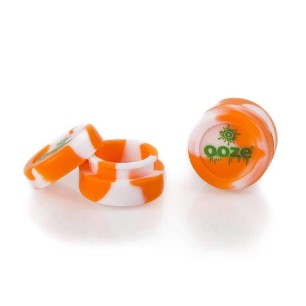 "Silicone ""Slick"" Cup-Alternative-White and Orange-The Vapor Supply"