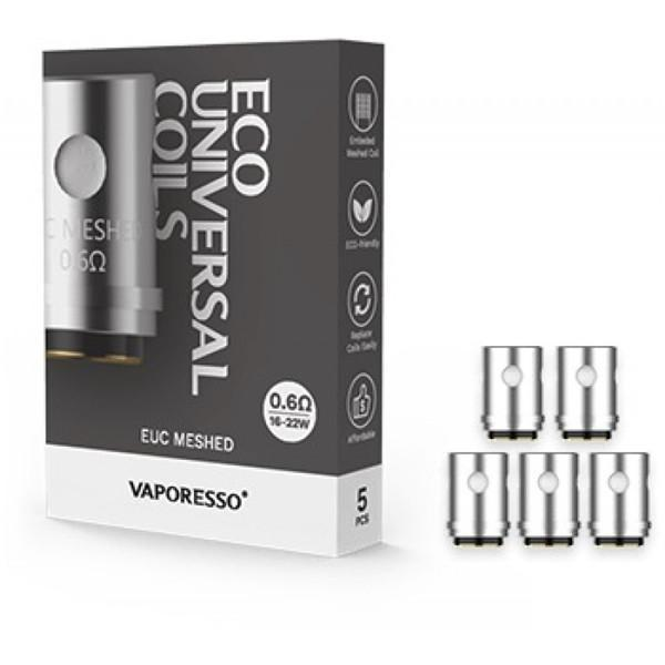 Vaporesso EUC Coils-Coils-0.6 ohm Mesh-The Vapor Supply