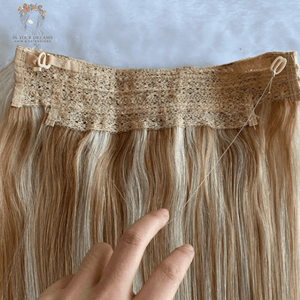 Halo Hair Extensions European Human Hair - In Your Dreams Hair Extensions - Afterpay