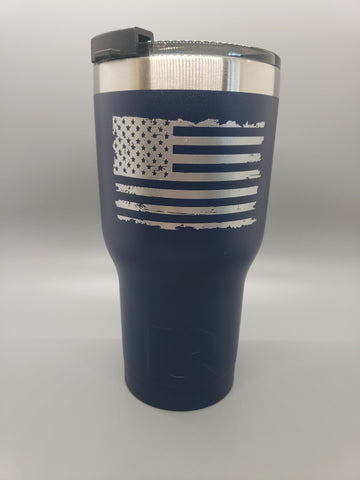 RPG Coffee 20 oz Tumbler RPG Coffee, LLC Navy Blue