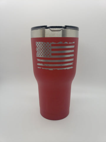 RPG Coffee 20 oz Tumbler RPG Coffee, LLC Red