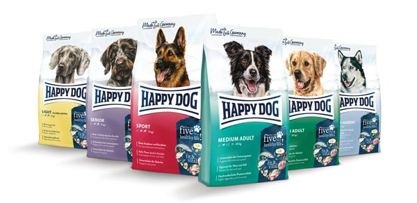 Fit & Vital Dog Food range