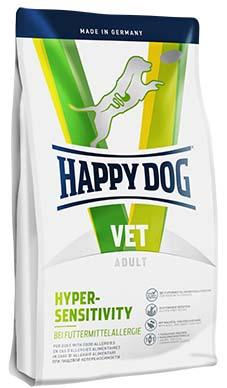 Hypersensitive dog food