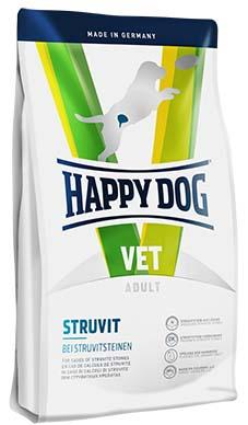 Struvite dry dog food