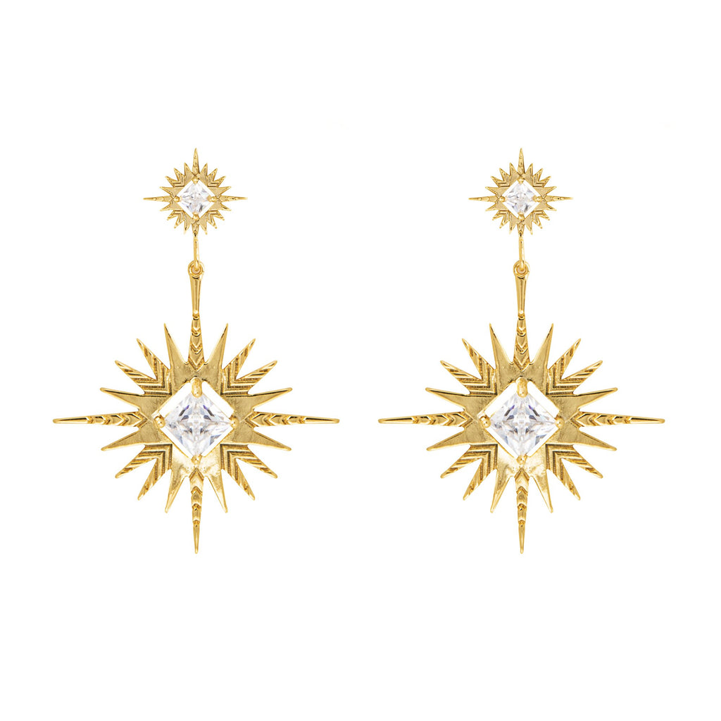 Lindi Kingi Solar Earrings