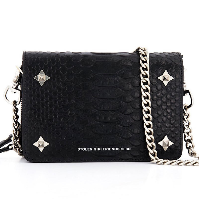 stolen girlfriends club ninja star box bag