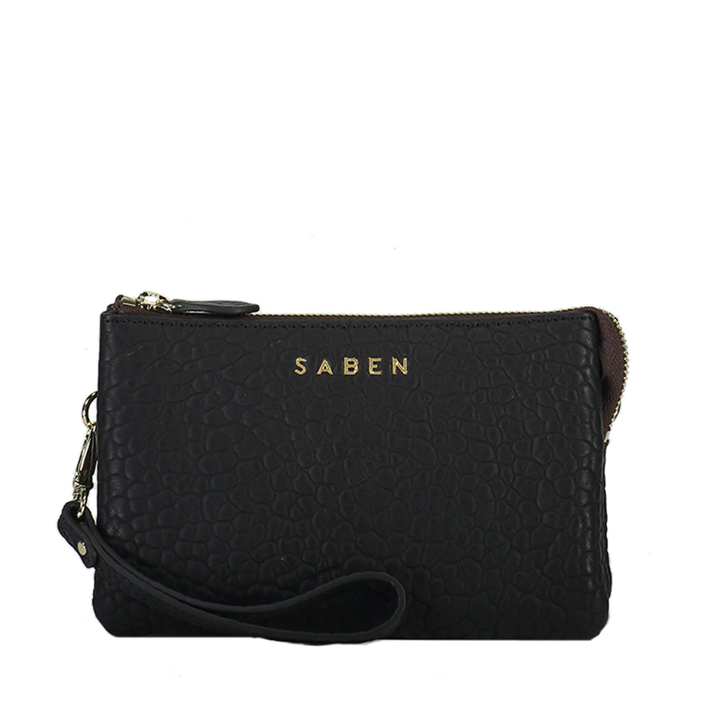 saben tilly crossbody black bubble