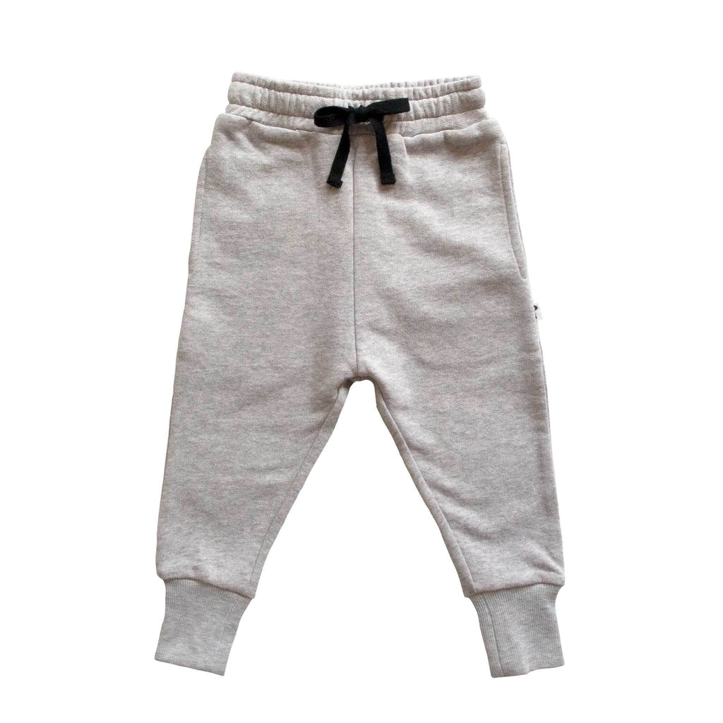 phoenix & the fox austin track pant - grey marle