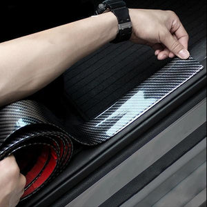 All Purpose Glossy Carbon Fiber Sticker For Exterior And Interior (sporty and protection)