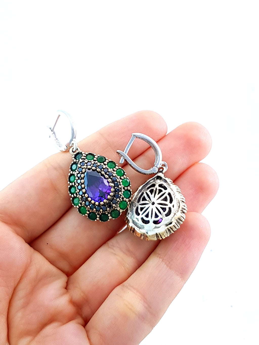 Turkish Wholesale Handmade 925 Sterling Silver Jewelry hurrem Sultan BN Gift 2116 - Turkishsilverjewelry