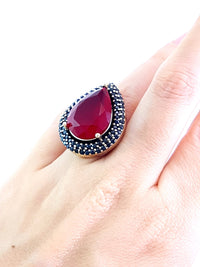 Ottoman Turkish Wholesale Handmade 925 Sterling Silver Jewelry Ring Size 8 R1156 - Turkishsilverjewelry
