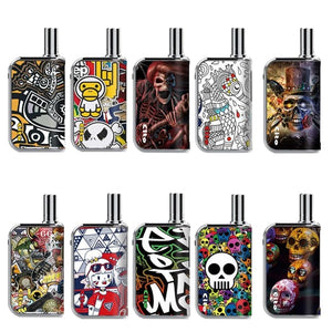 OILAX Cito Pro Battery Box Colors: Street Art, Devil's Night, Music Ghost, Hat Skull, Monkey Boy, White Skull, Memorial Day, Hallowed Time, Sea Horse