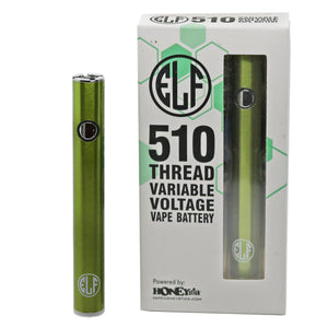 HoneyStick Elf Stick Vape Pen Battery w/ Packaging - Green-Metallic Color