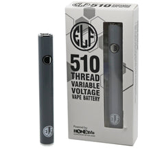 Load image into Gallery viewer, HoneyStick Elf Stick Vape Pen Battery w/ Packaging - Gray Color
