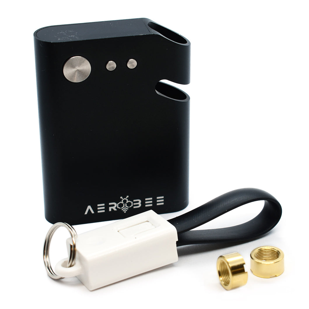 AeroBee Digital Battery for Carts Kit with USB charging Cable abd 2 510 thread magnetic cartridge connectors