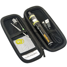 Load image into Gallery viewer, Cannabis Cup Wax Pen Kit. Stinger 2200 mAh dab pen battery, Highbrid vape tank for dab, extra wax atomizer, dab tool in hard zipper box