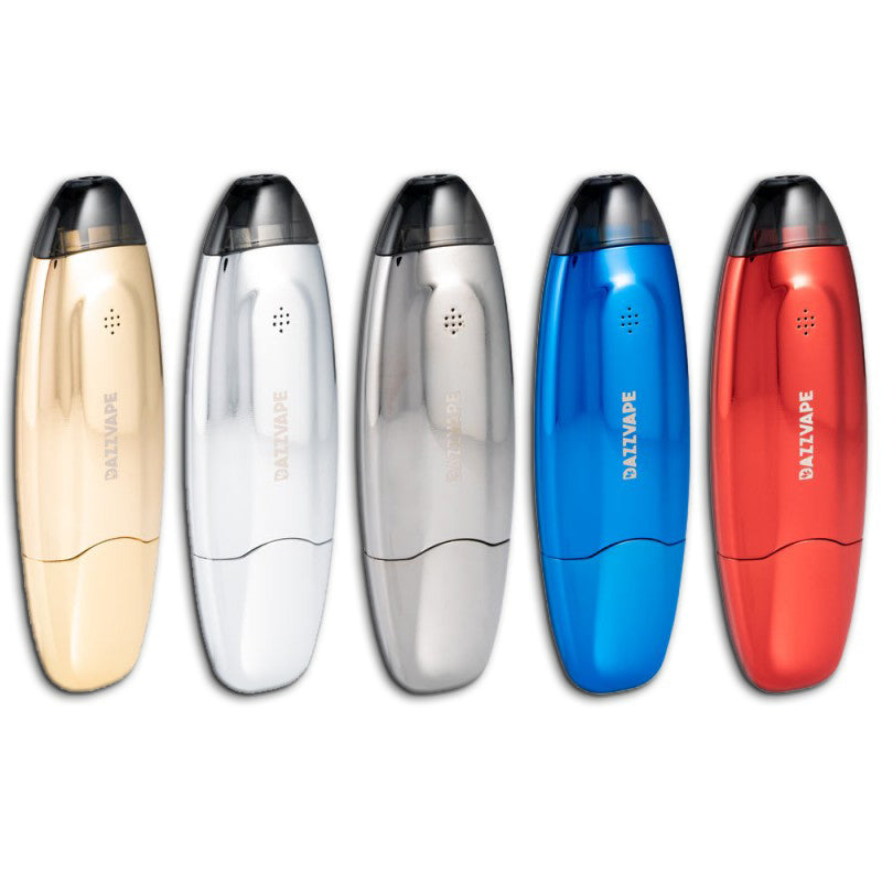 Boto Dab Pen Colors: Gold, Silver, Black, Blue, Red