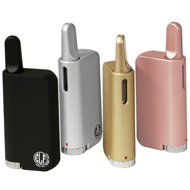 HoneyStick Elf Twist VV Vape Mod in 4 colors: Black, White, Gold and Rose-Gold