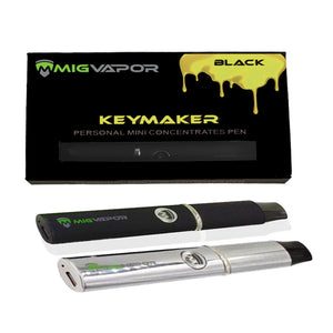 Keymaker Black 500mah Wax Vape Pen Colors: Black, Silver