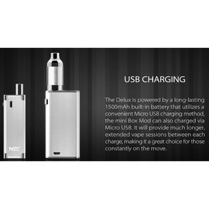 DeLux Vaporizer Kit explanation