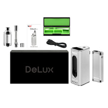 Load image into Gallery viewer, DeLux Vaporizer Kit box contents