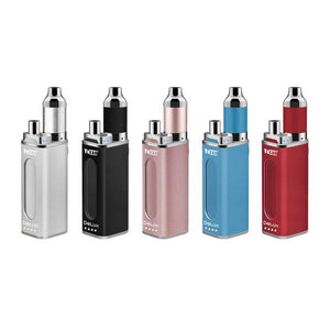 DeLux Vaporizer Kit Colors: Silver, Black, Rose Gold, Blue, Red