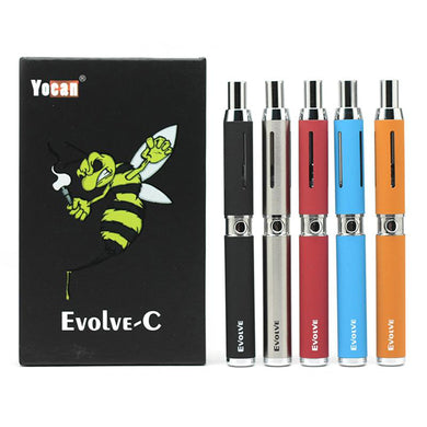 Evolve-C Thick Oil & Wax Kit Colors: Black, Silver, Red, Blue, Orange