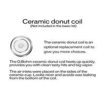 Load image into Gallery viewer, Evolve Plus Coils ceramic donut explanation