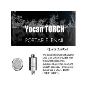 Torch Portable E-Nail Coils explained
