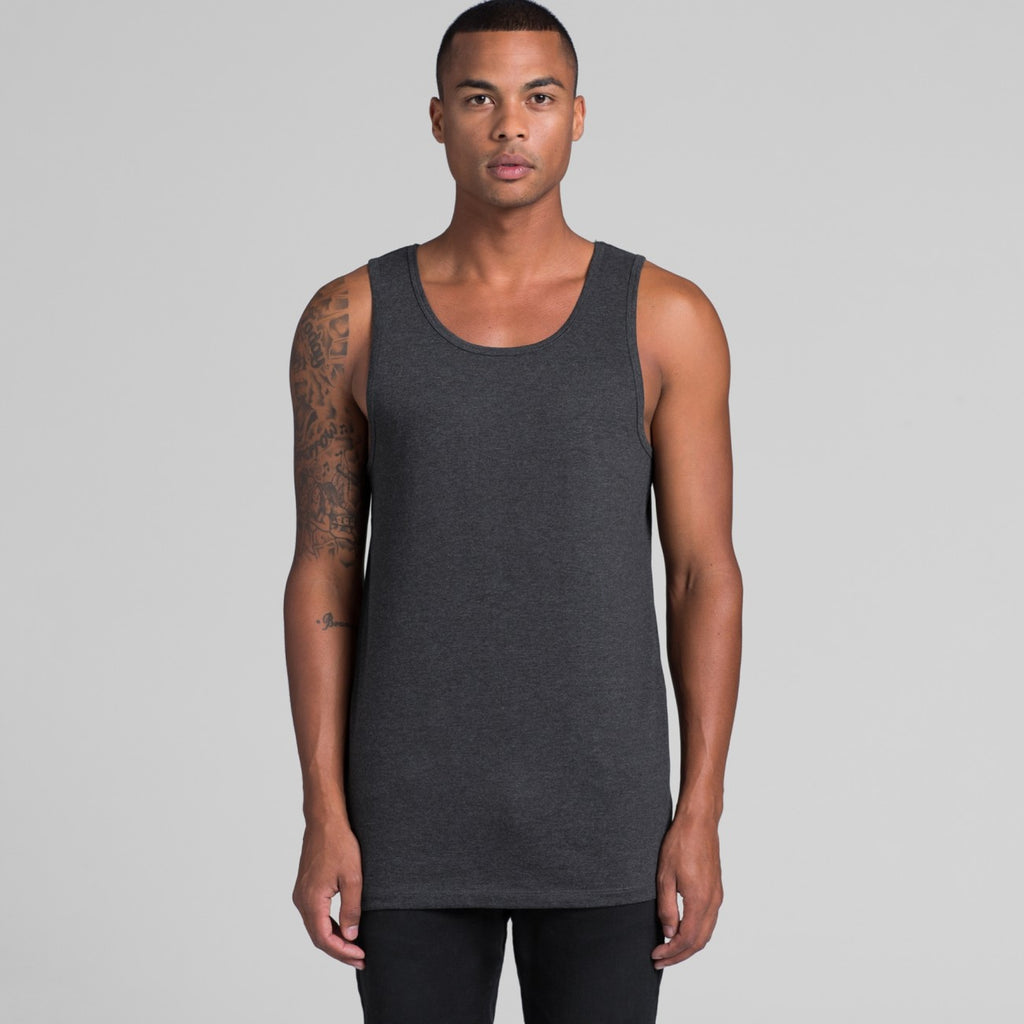 AS Colour Mens Lowdown Singlet - 5007