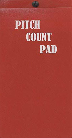 Score Rite Baseball Pitch Count Holder & Pad