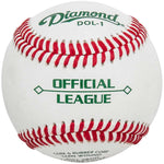 Diamond DOL-1 High School Practice Baseballs (NFHS)