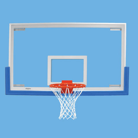 Jaypro Unbreakable Rectangular Glass Backboard