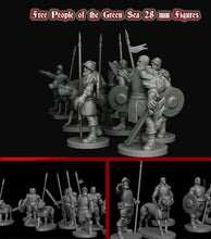 Load image into Gallery viewer, IWA5001 Free People of the Green Sea 28mm Figure Download