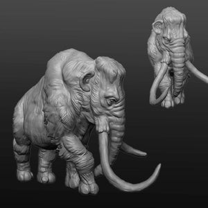 IWA1001 Resin Mammoth No Saddle