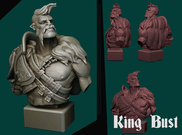 IWA4003 Collectors Bust King Giant 120mm