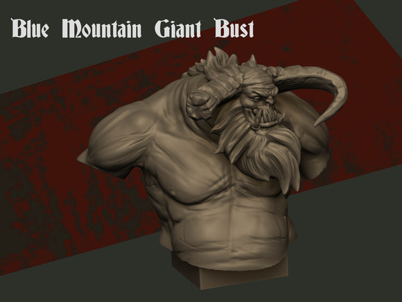 IWA4001 Collectors Bust Kroll Blue Mountain Giant 120mm