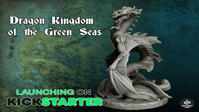 Dragon Kingdom of the Green Sea Personel Home Printing Licence
